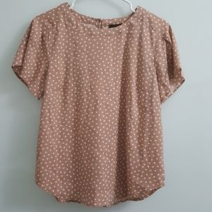 (NWT) Ann Taylor Short Sleeve Top- Size Small